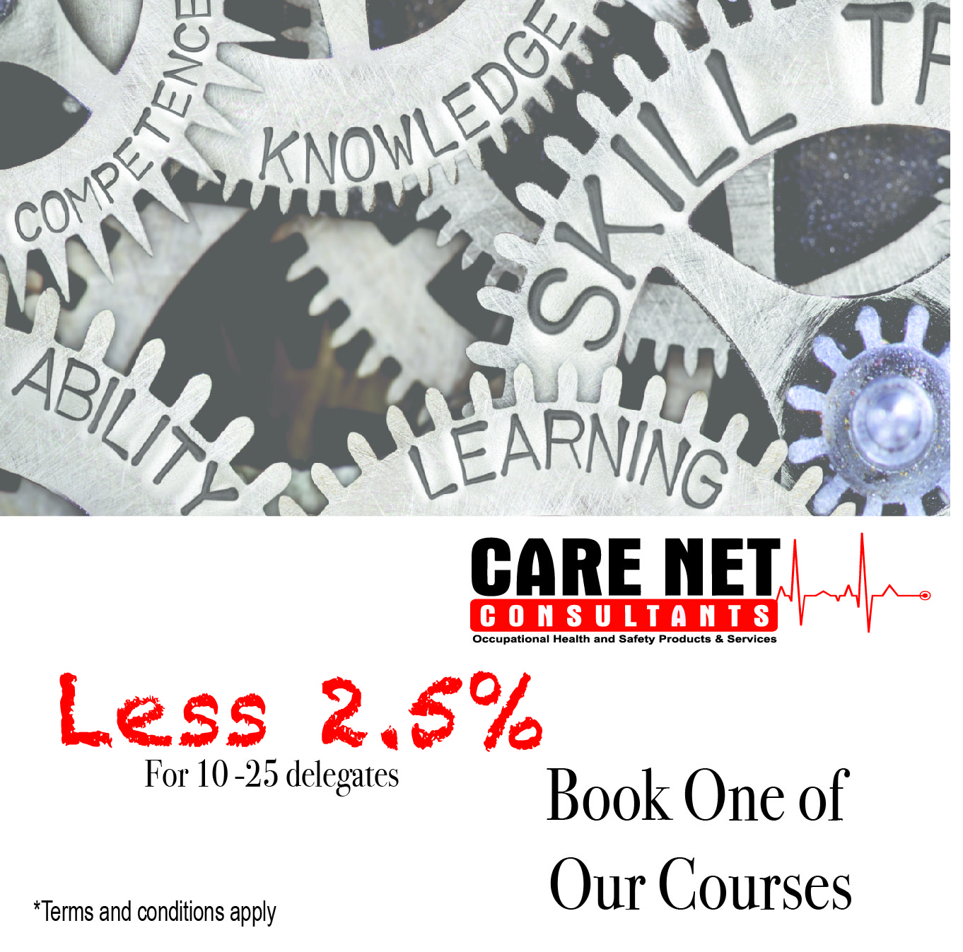 2,5% off on One Course